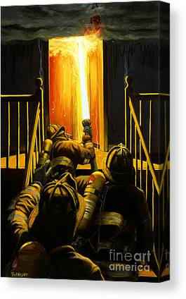 Fire Canvas Prints