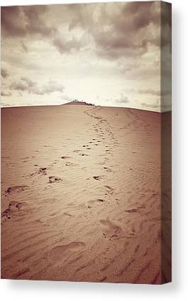 Sandy Desert Canvas Prints