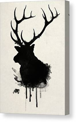 Hunt Canvas Prints