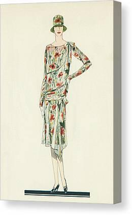 1920s Fashion Canvas Prints