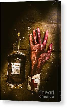 Hand Anatomy Canvas Prints