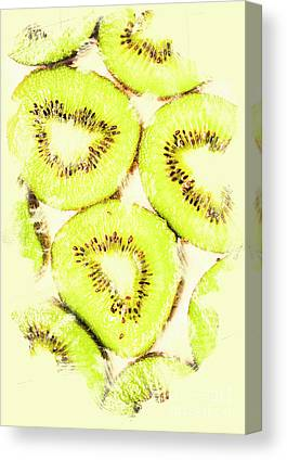 Kiwifruit Canvas Prints