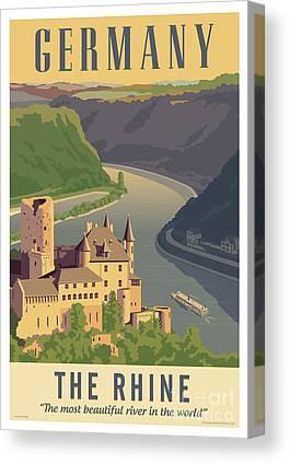 Riverboat Canvas Prints