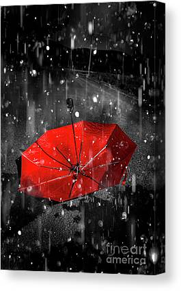 Rainy Day Photographs Canvas Prints