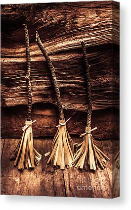 Witches Broom Canvas Prints