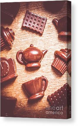 Chocoholic Canvas Prints