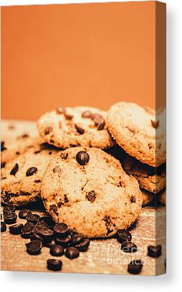 Chocolate Chips Canvas Prints