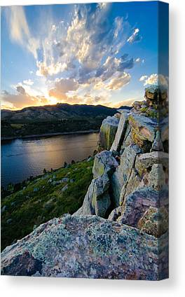 Horsetooth Rock Canvas Prints