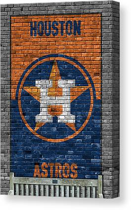 Astros Paintings Canvas Prints