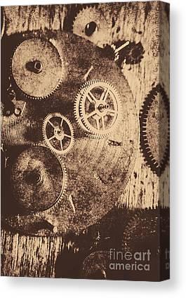 Old Machine Canvas Prints