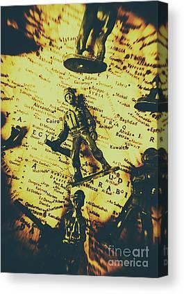 Syria Canvas Prints