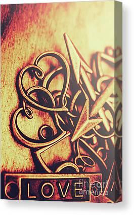 Gold Bracelet Canvas Prints