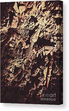 Palaeontology Canvas Prints