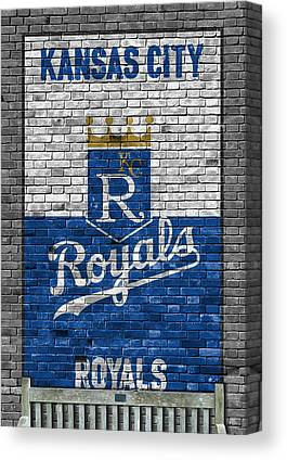 Kansas City Royals Canvas Prints