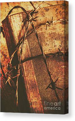 Crucify Canvas Prints
