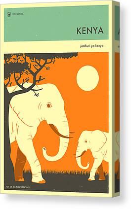 Kenya Canvas Prints