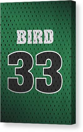 Larry Bird Canvas Prints