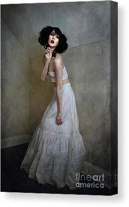 Full Skirt Mixed Media Canvas Prints