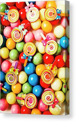 Confectionery Canvas Prints