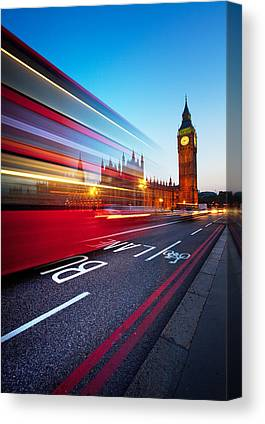 Night Lights Canvas Prints