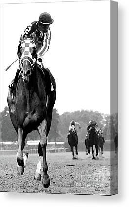 Kentucky Horse Park Mixed Media Canvas Prints