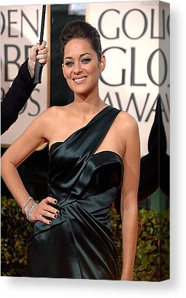 The 67th Annual Golden Globes Awards - Arrivals Canvas Prints