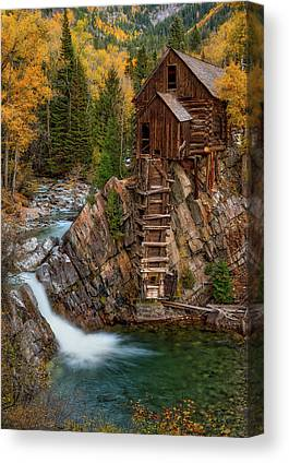 Crystal Mill Canvas Prints