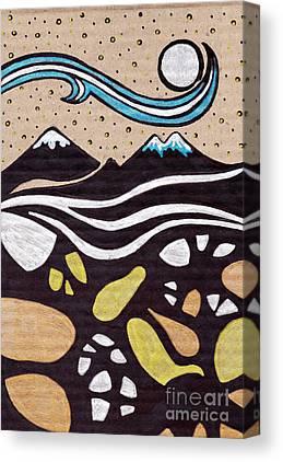 Cardboard Drawings Canvas Prints