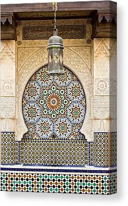 Moroccan Photographs Canvas Prints
