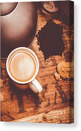 Tea Leaves Canvas Prints