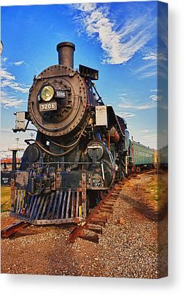 Old Locomotive Canvas Prints