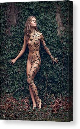 Ivy Canvas Prints