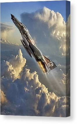 Jet Canvas Prints