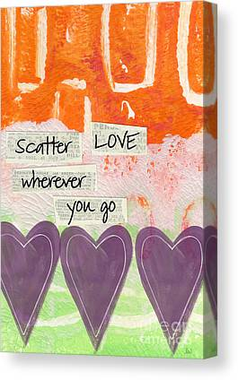 Cheerful Mixed Media Canvas Prints