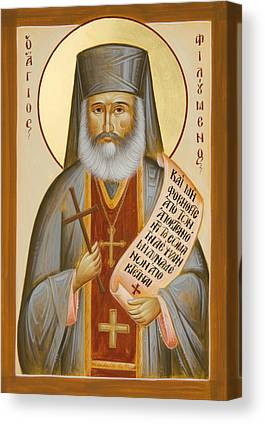 St Philoumenos Paintings Canvas Prints