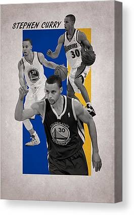 Stephen Curry Canvas Prints