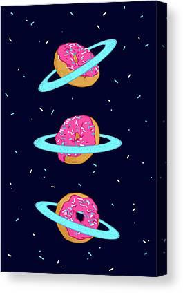 Outerspace Canvas Prints