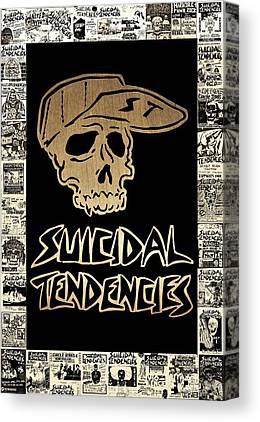 Tendency Mixed Media Canvas Prints