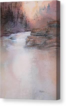 Swallow Falls State Park Canvas Prints