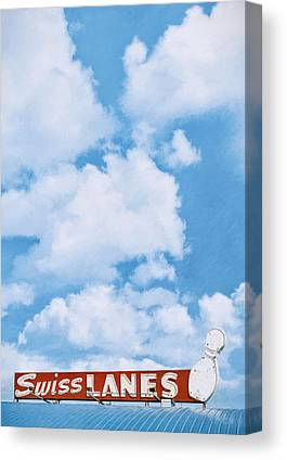 Bowling Alley Canvas Prints