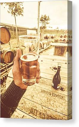 Wine Tour Canvas Prints