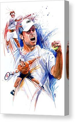 Andy Roddick Canvas Prints