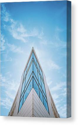 Glass Tower Canvas Prints