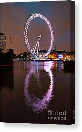 London Eye Canvas Prints