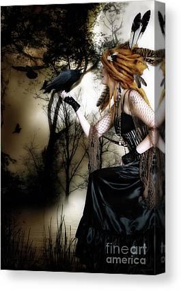 Gothic Digital Art Canvas Prints