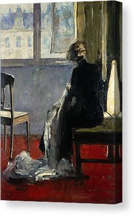 Jewish Painter Canvas Prints