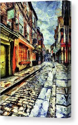 Briton Mixed Media Canvas Prints