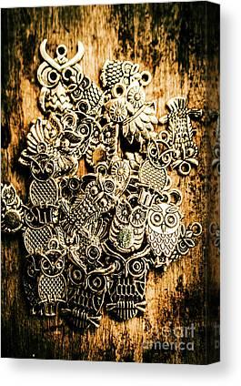 Owlet Canvas Prints