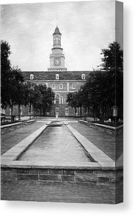 University Of North Texas Unt Canvas Prints