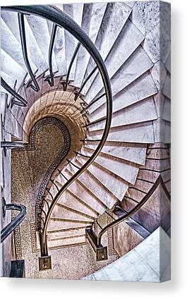 Stair-rail Canvas Prints